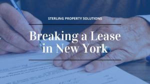 breaking lease in new york