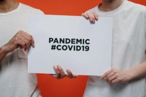 coronavirus covid19 pandemic sign
