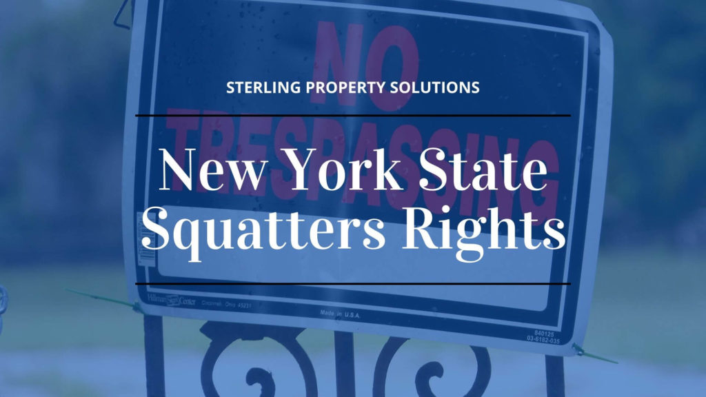 New York State Squatters Rights